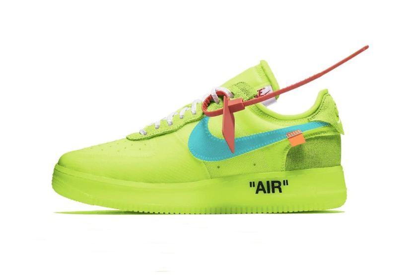 Svelata una nuova colorway delle Nike Air Force 1 low xOFF-WHITE
