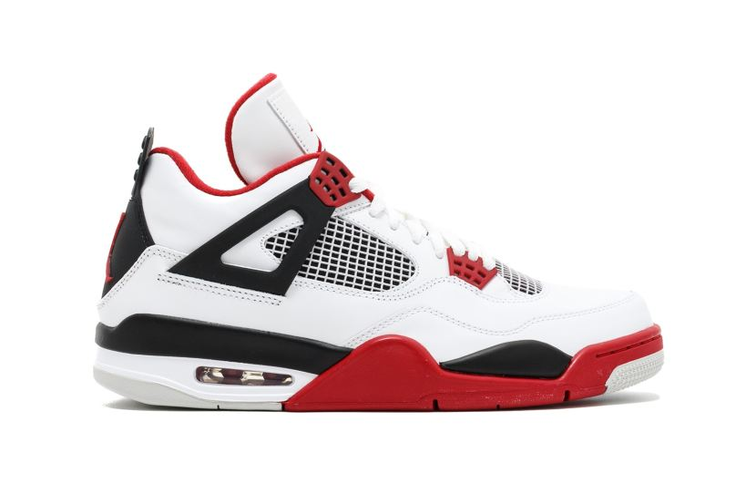 "AIR JORDAN 4 ""FIRE RED"" 2019"