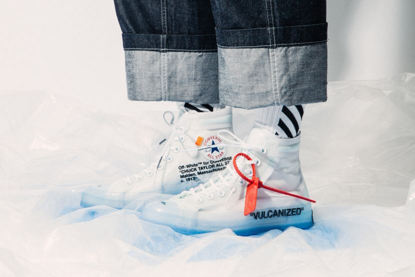 OFF WHITE x CONVERSE CHUCK TYLOR, STORE LISTEUROPE
