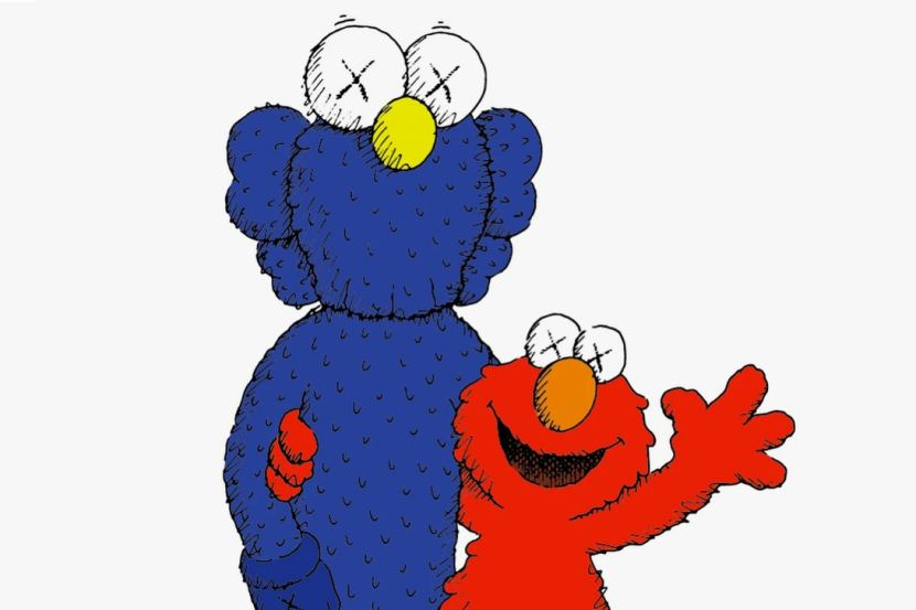 """La collezione """"Sesame Street"""" fra Kaws e Uniqlo ha ottenuto una data direlease"""
