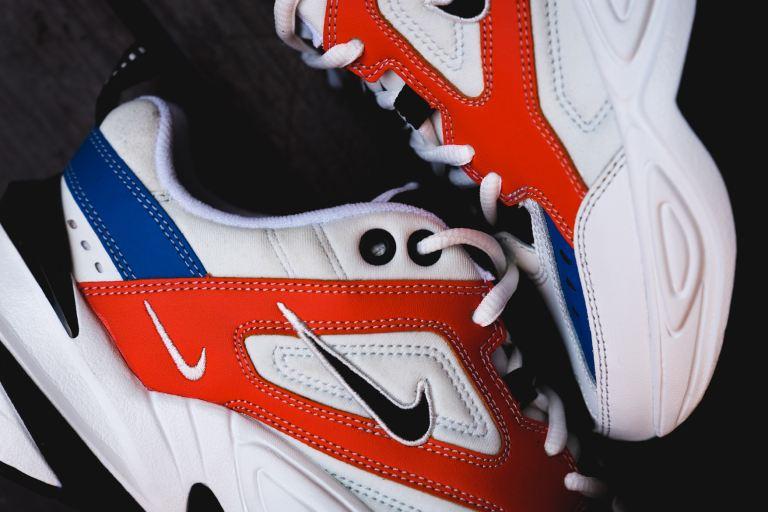 nike-m2k-tekno-on-foot-white-red-blue-black-2