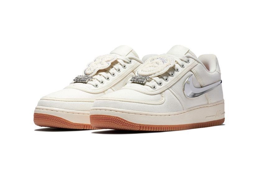 News sull'uscita delle nuovve Nike Air Force 1 x TravisScott