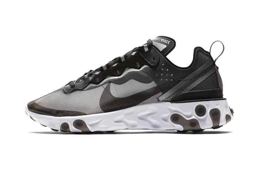Il futuristico modello delle Nike React Element 87 ottiene un CloserLook