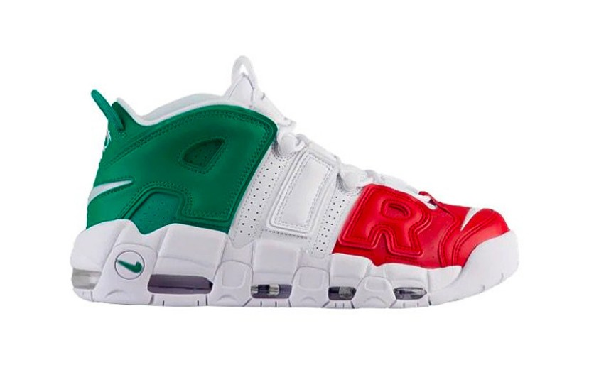 "NIKE AIR MORE UPTEMPO ""COUNTRY PACK"""