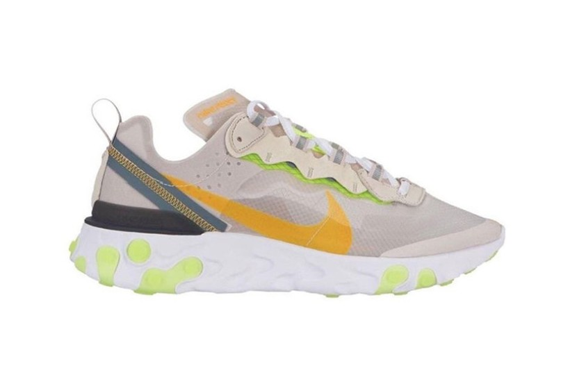 NIKE REACT ELEMENT 87, nuovecolorways