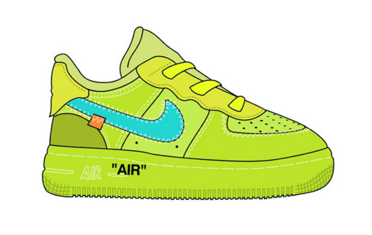 Off-White-Nike-Air-Force-1-Low-Kids-Sizes