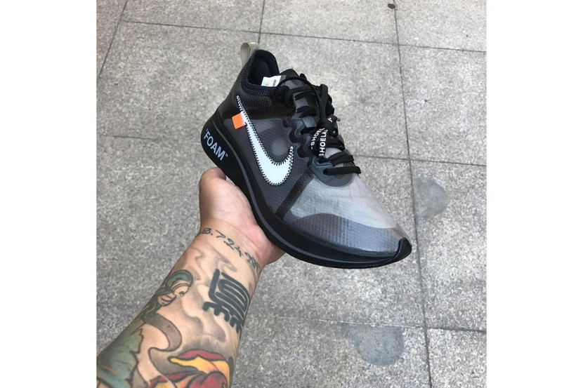 OFF-WHITE x NIKE ZOOM FLY BLACK/PINK